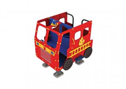 2119.1700.01 Tuletõrjeauto vedrudel